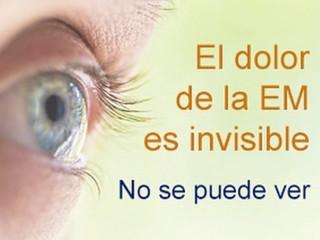 La Esclerosis Múltiple no es invisible, las personas con Esclerosis Múltiple tampoco lo son