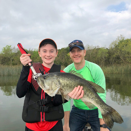 Bed Fishing For Spawning Bass