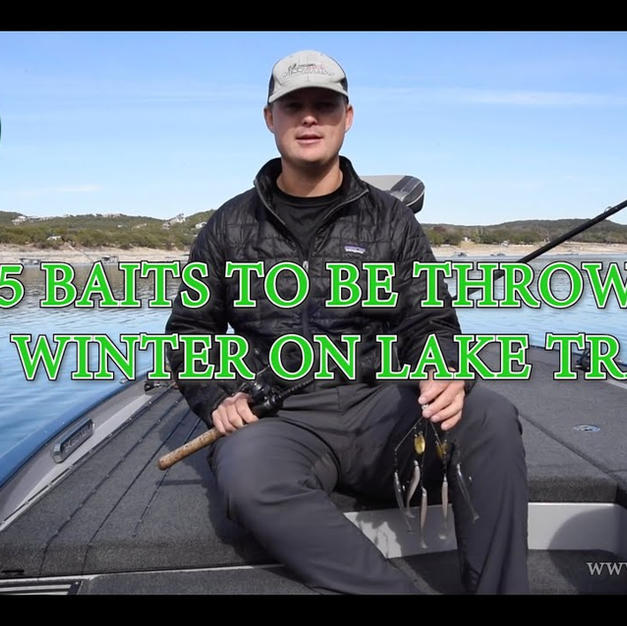 Top 5 Winter Baits for Lake Travis