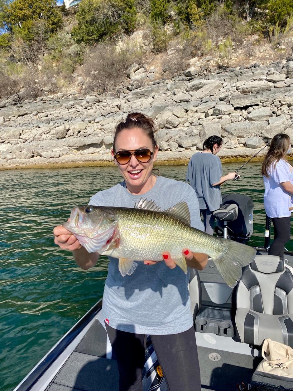 January 2021 - Lake Travis Fishing Report