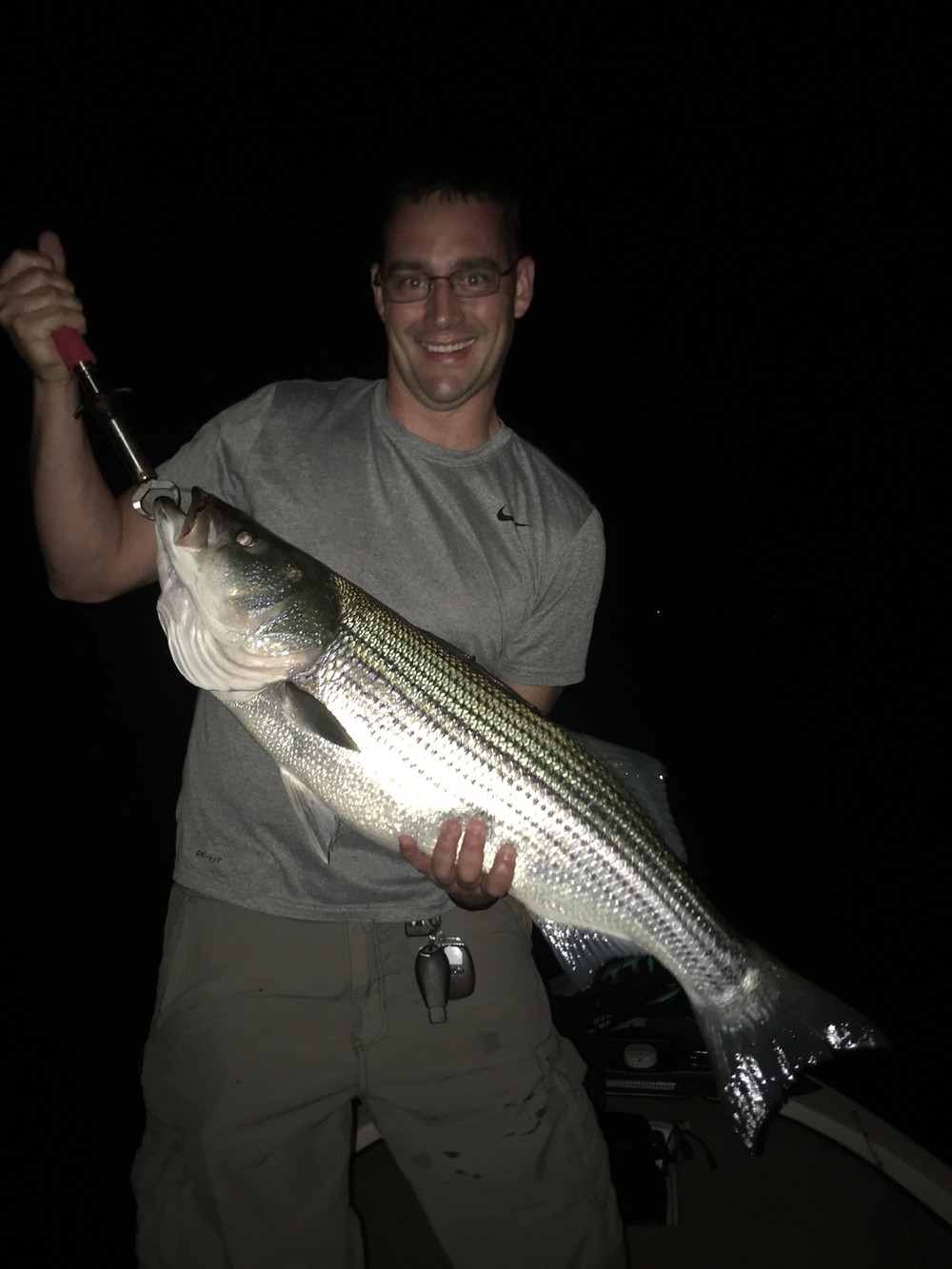 This Striper went 12 pounds