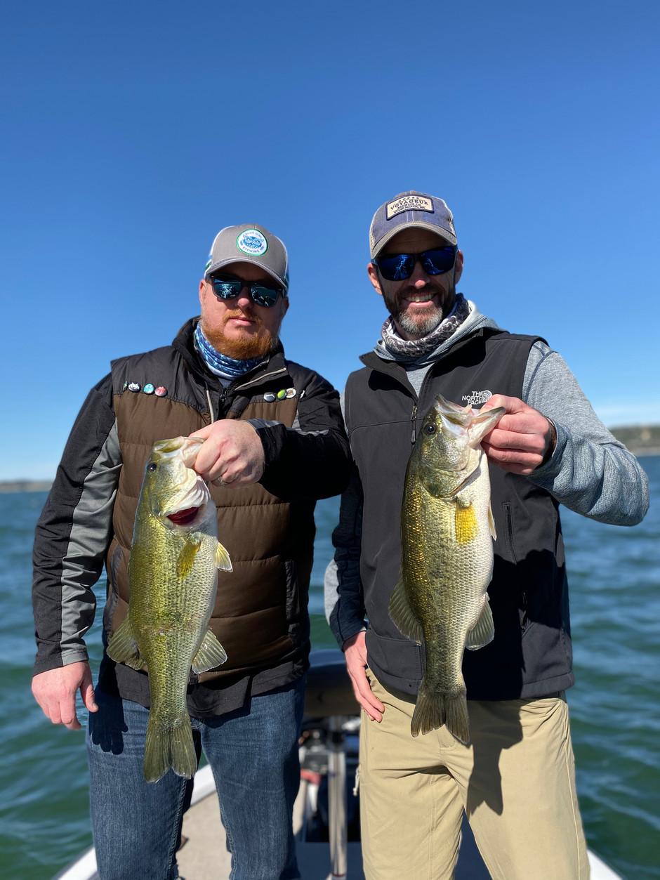 December Lake Travis Bass Fishing Report