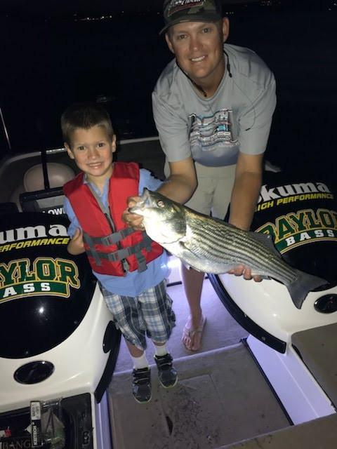 Father's Day Lake Travis Fishing Trip