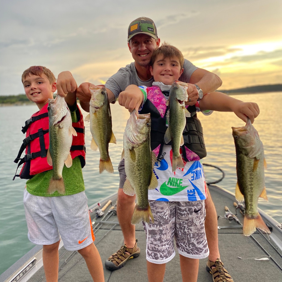 August, 2020- Lake Travis Bass Fishing Report