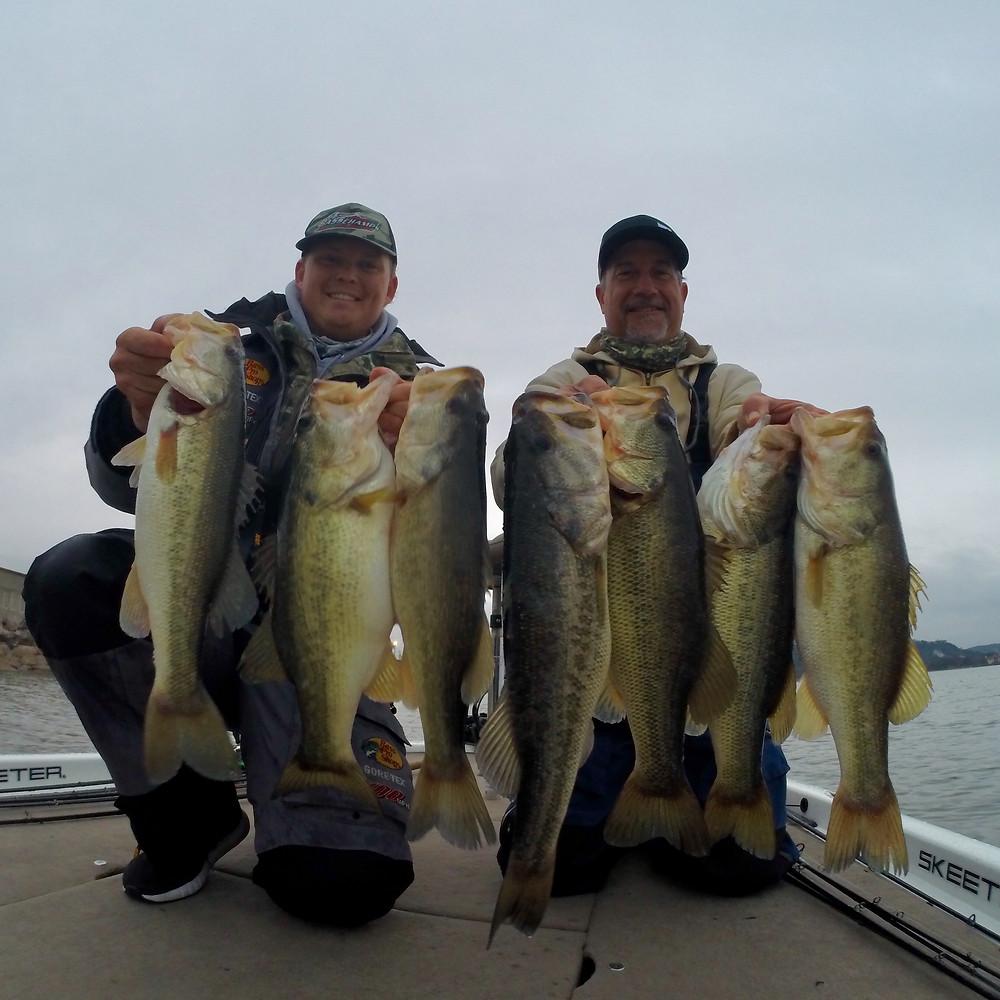 Lake LBJ Bass Fishing