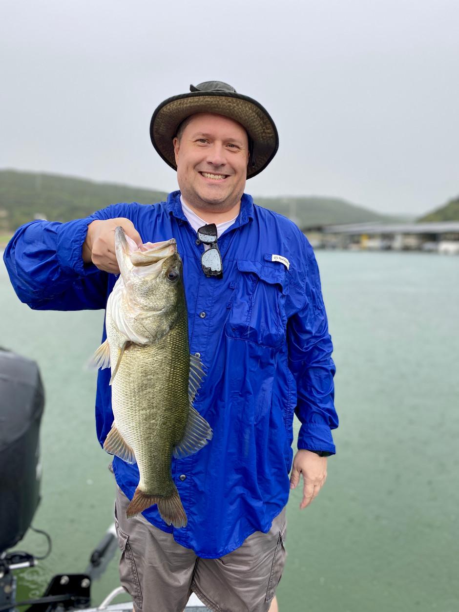 September 4, 2020 Lake Travis Bass Fishing Update