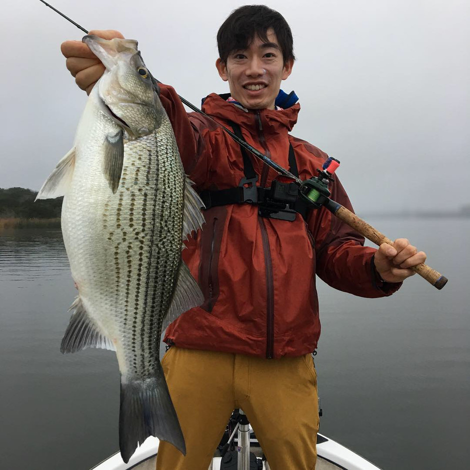 Awesome trip on Lake Decker with a client from Japan! (2/4/19)