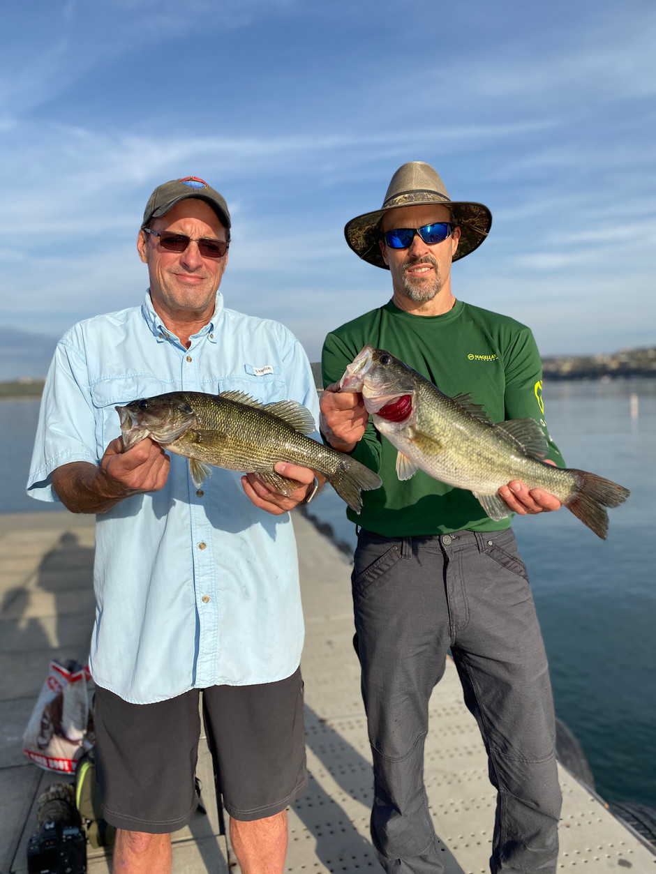 Mid December Lake Travis Fishing Report
