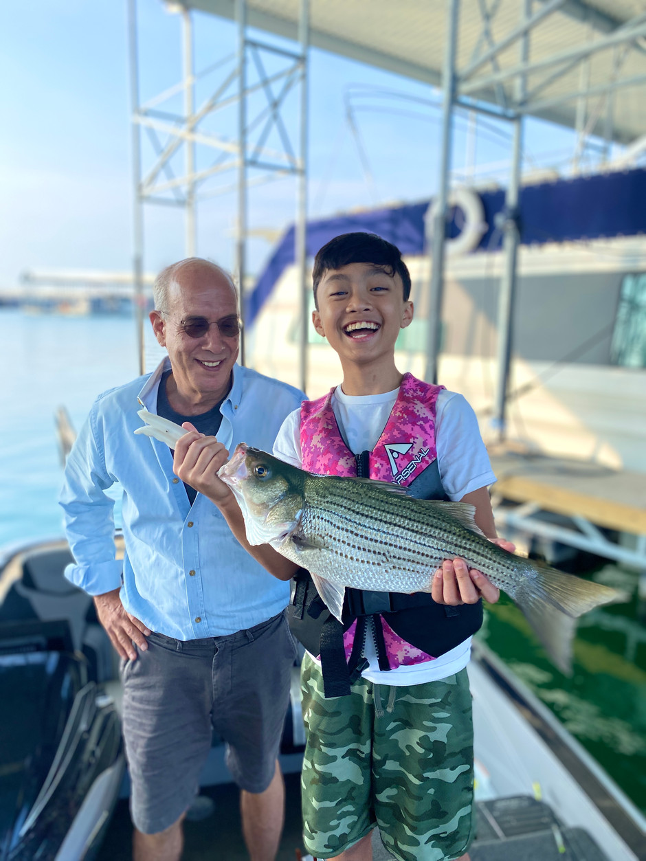 August 10, 2021 - Lake Travis Bass Fishing Report