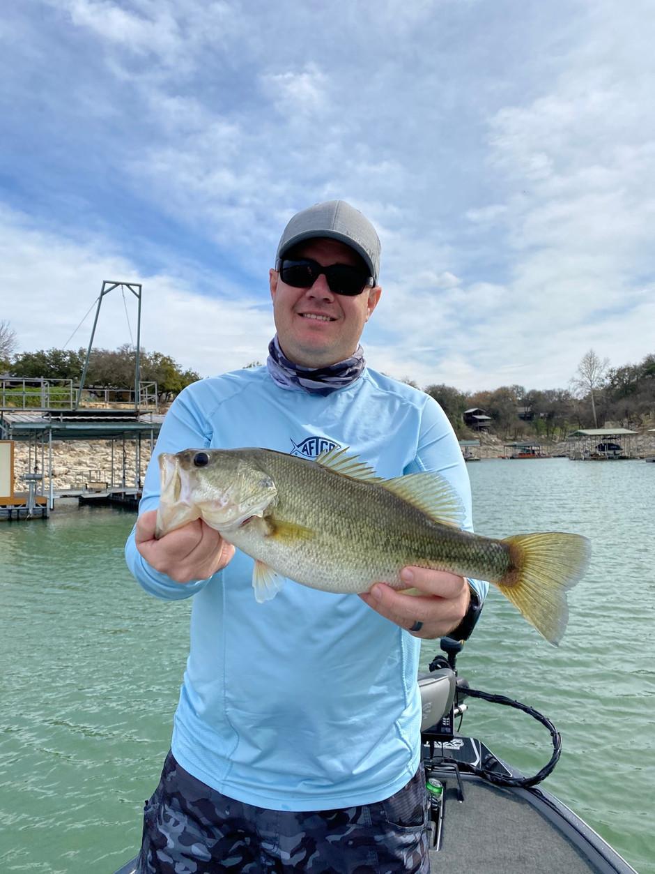 Lake Travis Bass Fishing Report- March 1, 2019
