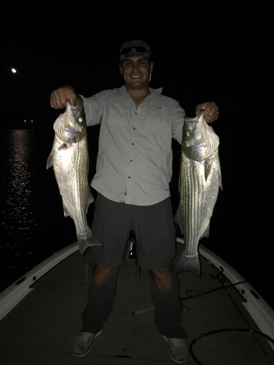 Striper Fishing Still Going!