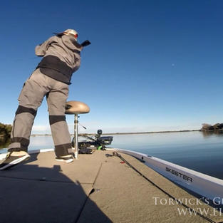 Fishing a Jig on Lake LBJ