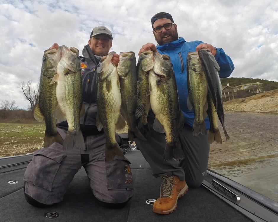 Lake Travis Mega Bag! February 22, 2020 Fishing Report