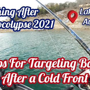How To Fish Lake Travis After a Cold Front