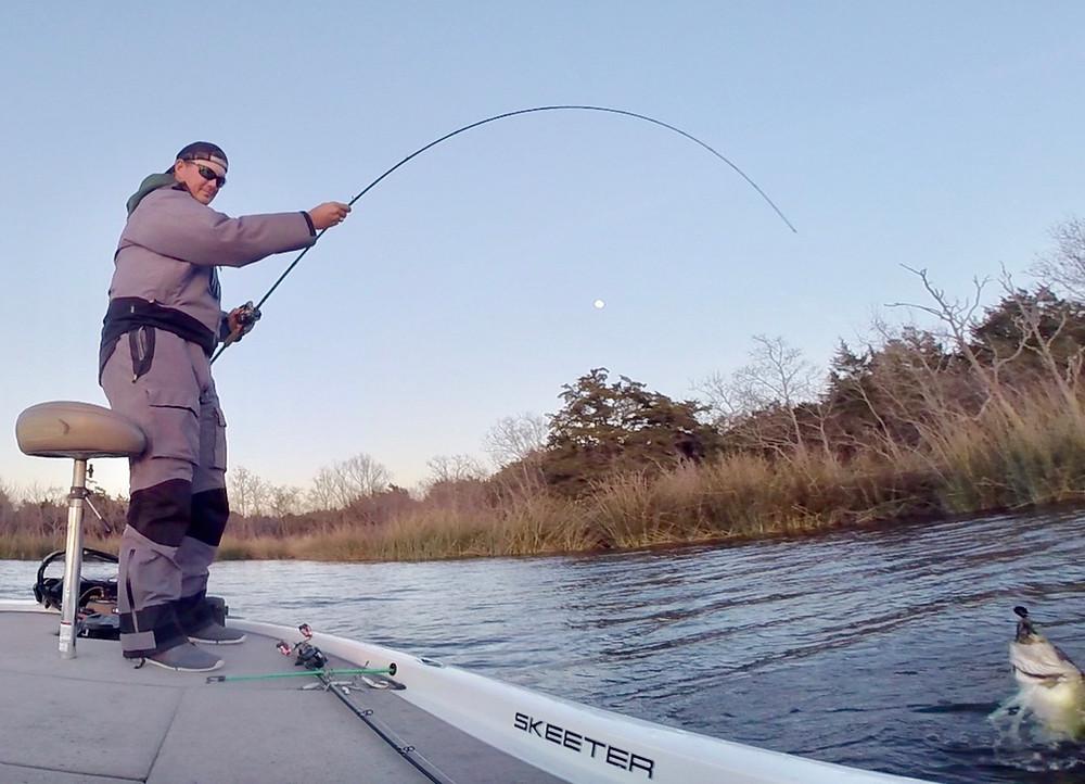 Boat Flippin' Bass!