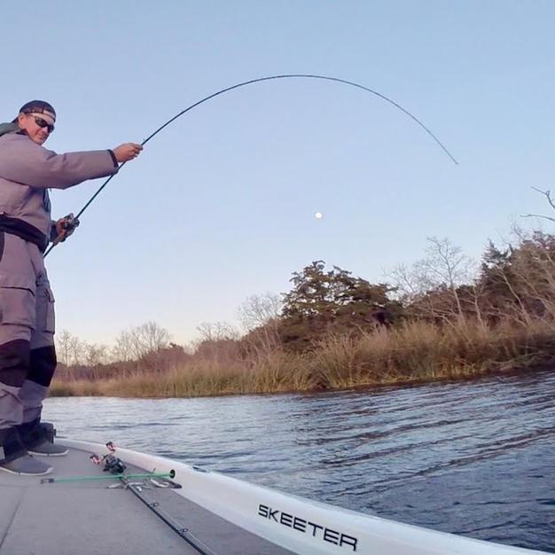 Winter Fishing on Lake Decker- January 2020