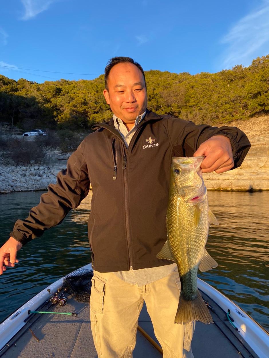 February 2020 Lake Travis Fishing Report
