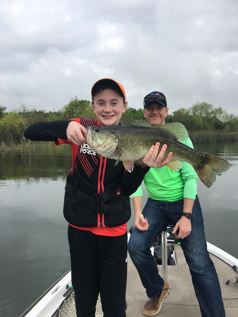Lake Decker bass