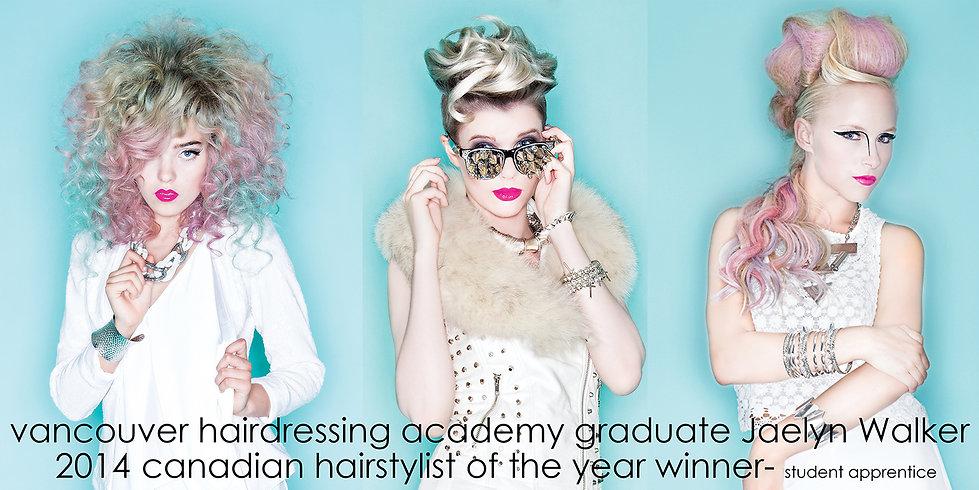Vancouver Hair Academy- Award-winning students