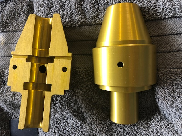 Gold Anodise