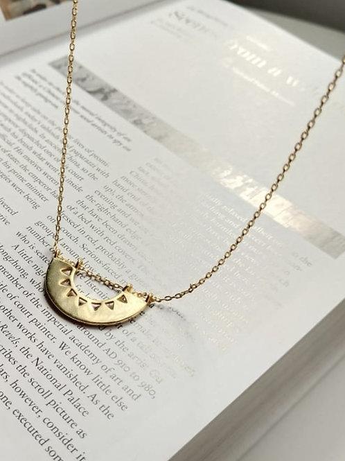 Cala Half Circle Necklace