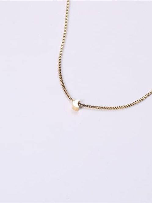 Luna Moon Charm Necklace