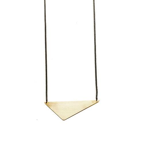 Eden Geometric Triangle Necklace