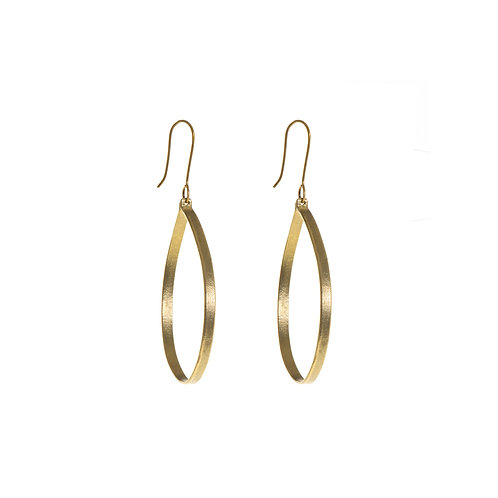 Ruthi Round Circle Earrings