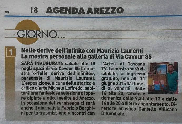 LA NAZIONE: Maurizio Laurenti