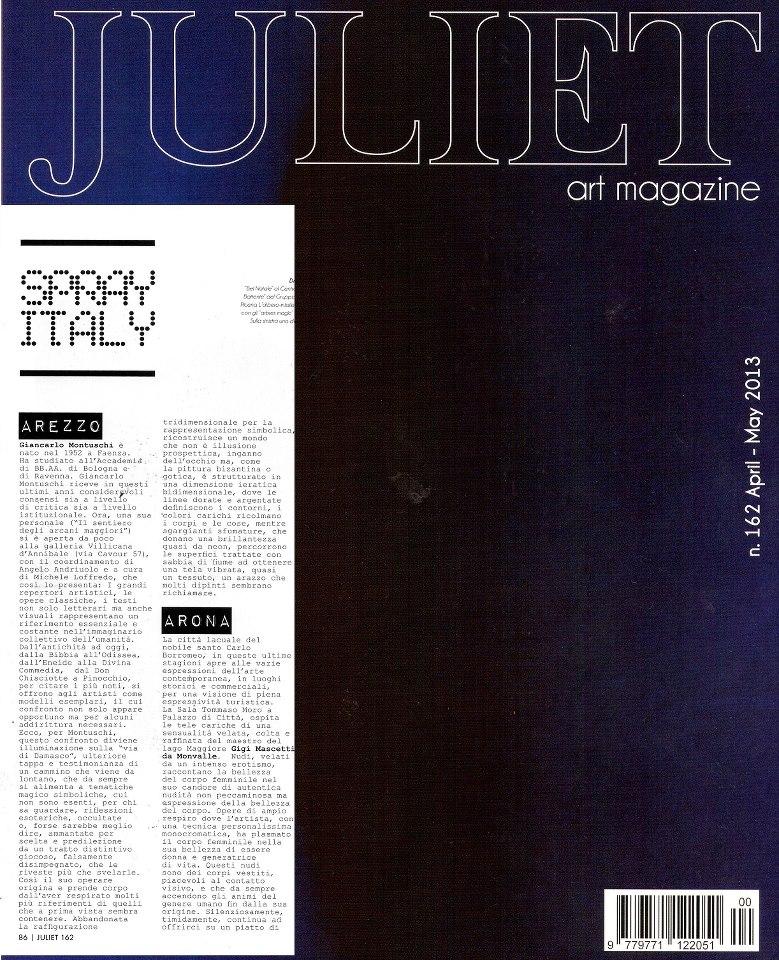 JULIET ART: Giancarlo Montuschi