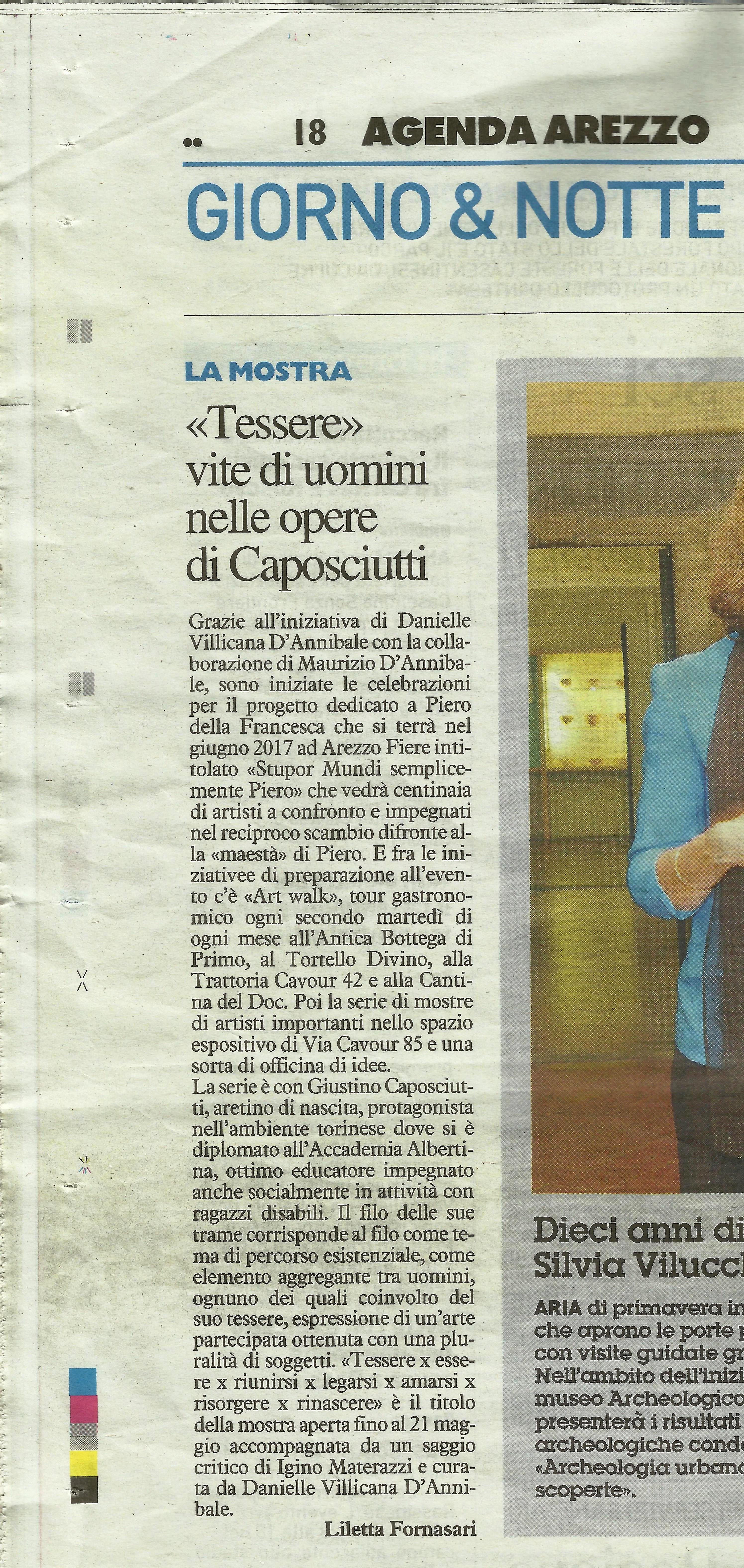 LA NAZIONE - Giustino Caposciutti