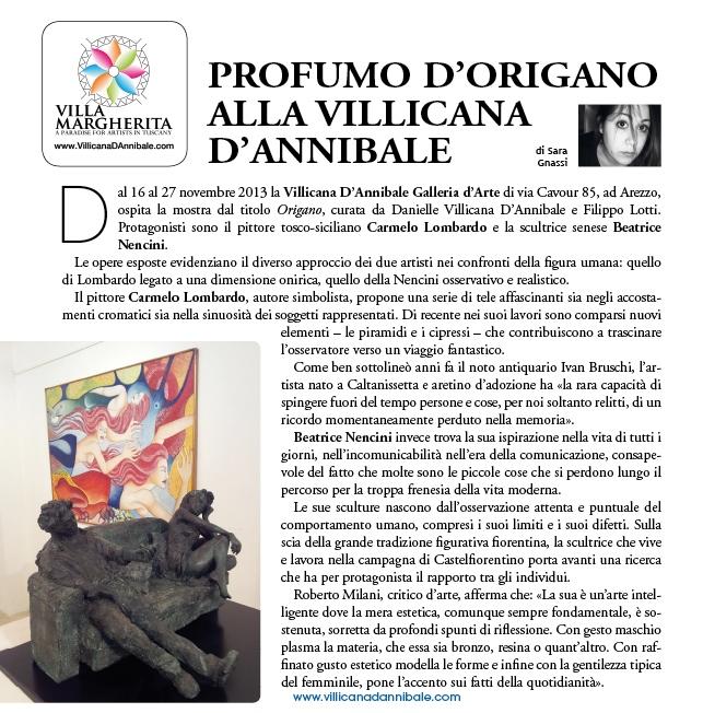 Carmelo Lombardo & Beatrice Nencini