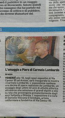 LA NAZIONE: Carmelo Lombardo