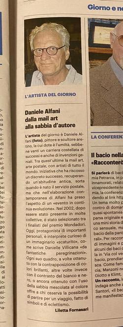 LA NAZIONE: Daniele Alfani