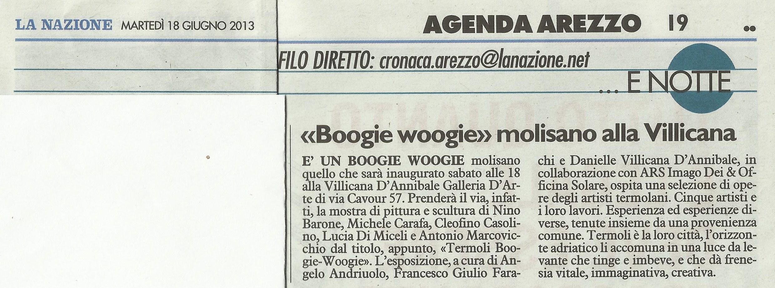LA NAZIONE: Boogie Woogie