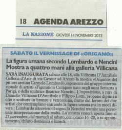 LA NAZIONE: Lombardo & Nencini