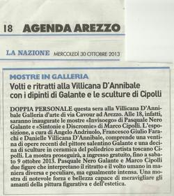 LA NAZIONE: Marco Cipolli & Galante