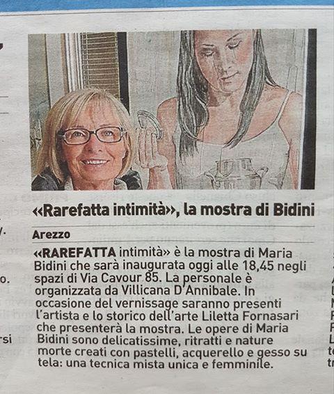 LA NAZIONE: Maria Bidini