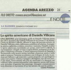 LA NAZIONE: Danielle Villicana