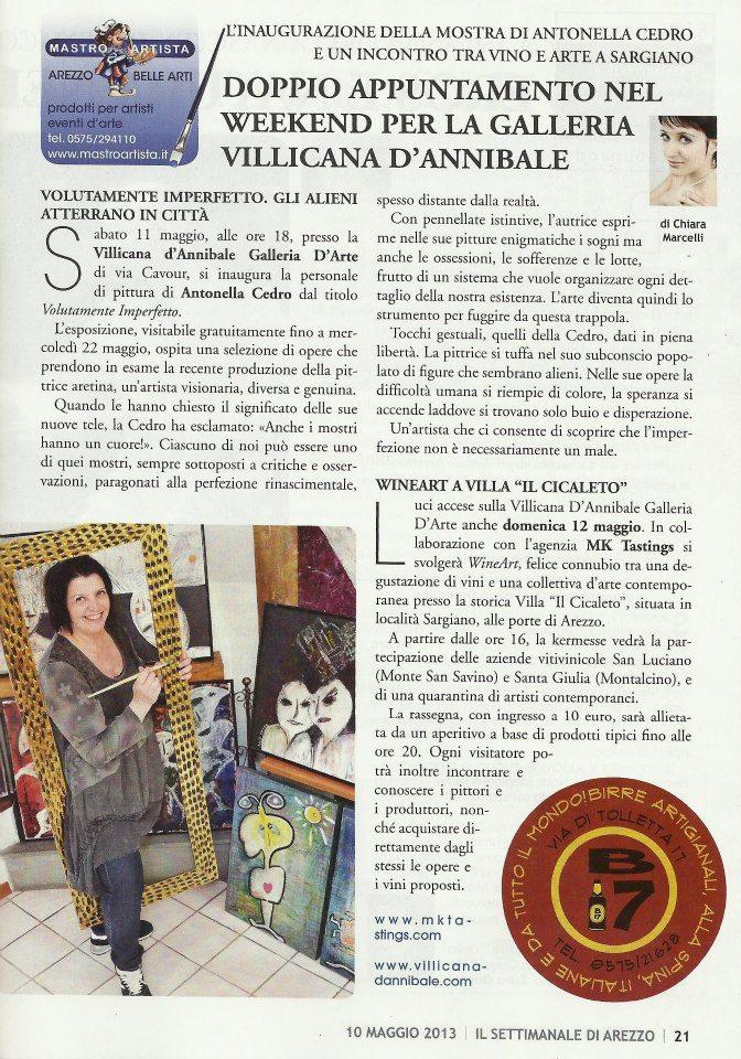 Antonella Cedro & WineArt