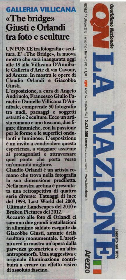 LA NAZIONE: Giusti & Orlandi