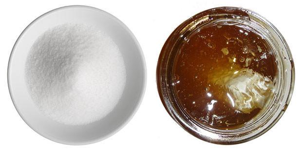 μέλι vs ζάχαρη