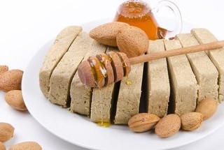 Νηστίσιμο γλύκισμα (Χαλβάς-ταχίνι-μέλι)