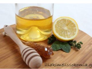 Μέλι- νερό- λεμόνι