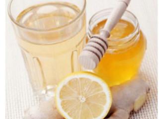 Μέλι - τζίντζερ - λεμόνι