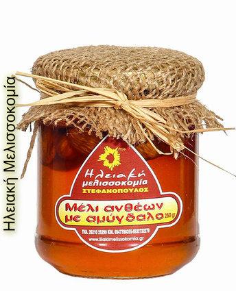 Μέλι ανθέων με κηρήθρα