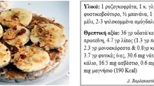 Θρεπτικές επιλογές πρωινού ή snack με μέλι.