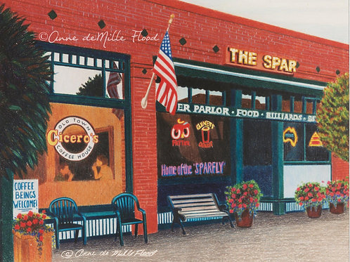 """The Spar 11""""x14"""" Matted Print"""