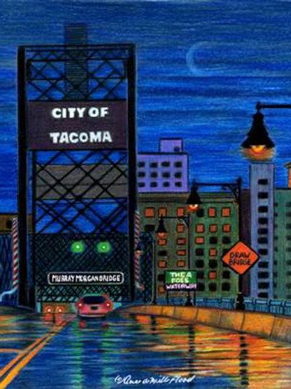 "You'll Like Tacoma 11""x14"" Matted Print"