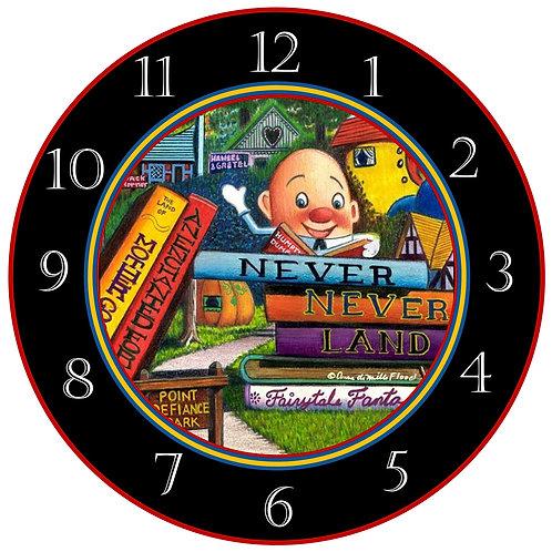 Never Never Land Clock